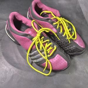 Women's Adidas Barricade Adilibria Purple Size 8.5 Medium Tennis Shoes Sneakers